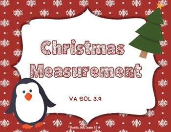 Christmas Measurement - SOL 3.9 Measuring to the nearest 1