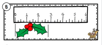 Christmas Measurement and Line Plots Scoot