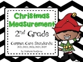 Christmas Measurement (inches, cm, meters, feet, line-plots)