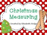 Christmas Measuring Activity