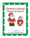 Christmas Measuring Activity/Center