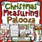 Christmas Measuring Palooza --- Christmas Measurement Math Centers