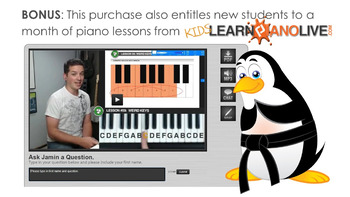 10-Song Christmas Mega-Pack; Piano Lesson Bundle - 233 Pages!