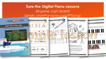 Christmas Mega 10-pack sheet music, play-along track, and