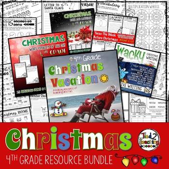Christmas Mega Bundle - 4th Grade