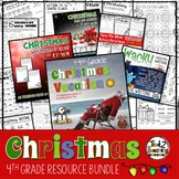 Christmas Mega Bundle for 4th Grade