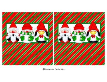 Christmas Mega Hershey Bar Wrapper Set