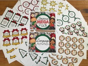 Christmas Mega Pack- Language, Social Skills, Articulation