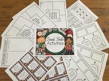 Christmas Mega Pack- Language, Social Skills, Articulation
