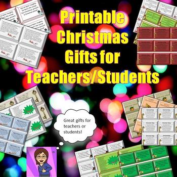 Christmas Student Teacher Gifts Reindeer Poop Fundraiser