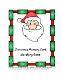 Christmas Memory Card Matching Game