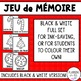 Christmas Memory Game FRENCH Version | Jeu de Mémoire de Noël