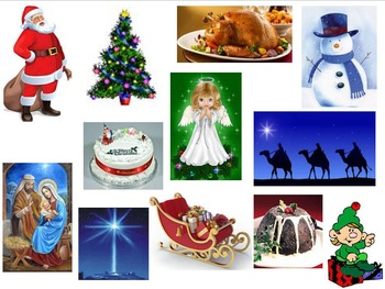 Christmas Memory Game - great fun for all (children AND adults)!