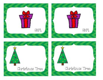 Christmas Memory Matching Game