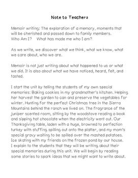 how to write a family narrative