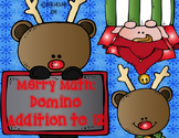 Christmas Merry Math: Domino Addition to 12