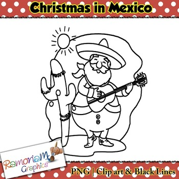 Christmas around the World Clip art Mexico