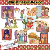 Christmas around the World Clip art Mexico