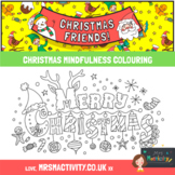 Christmas Mindfulness Coloring