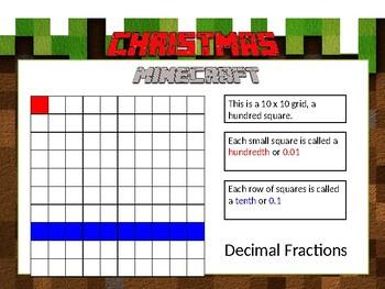 Christmas Minecraft Math 2