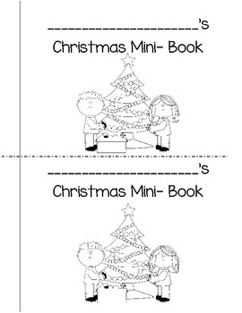 Christmas Mini-Book