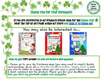 Christmas Mini Books - ESL/ENL, Special Needs, Young Learners