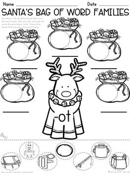 Christmas Mini - Pack    {Math and Literacy}