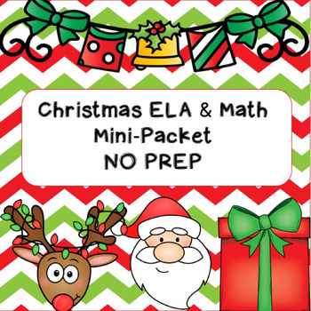 Christmas Mini-Packet NO PREP