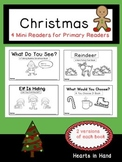 Christmas Mini-Readers For Primary(K-2)