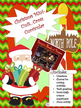 "Christmas Mini Unit...Based on the book ""Santa's Book of Names"""