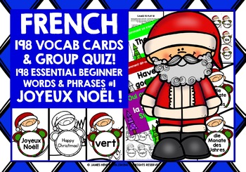 FRENCH STARTER VOCABULARY (1) - CHRISTMAS PRACTICE & REVISION