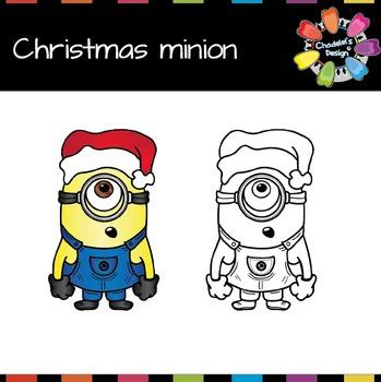 Christmas Minion FREEBIE [Christmas morning gift]