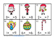 Christmas Missing Number Equations