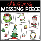 Christmas Missing Pieces Task Box | Task Boxes for Special