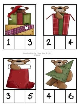 Christmas Missing Squares Unit