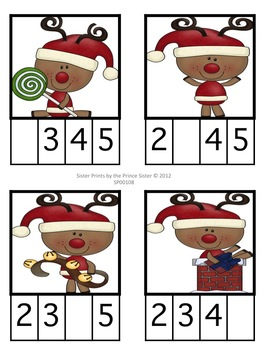 Christmas Missing Squares Unit