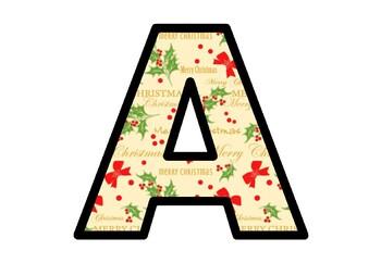 Christmas, Mistletoe, Bulletin Board Letters, Classroom Decor
