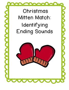 Ending Sounds Mitten Match