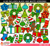 Christmas Mix Christmas Clip Art