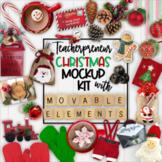 Christmas Mockups | Teacherpreneur Mockup | Create Your Ow