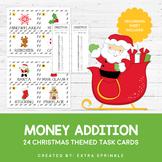 Christmas Money Addition Task Cards