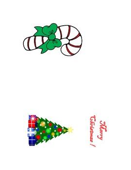 Christmas Money Holder Card