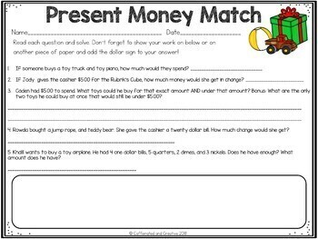 Christmas Money Match Center