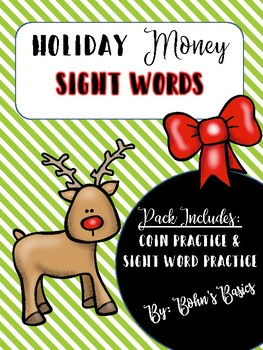 Christmas Money Words