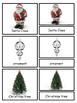 Christmas Montessori 3-part cards and Silhouette cards--Sa