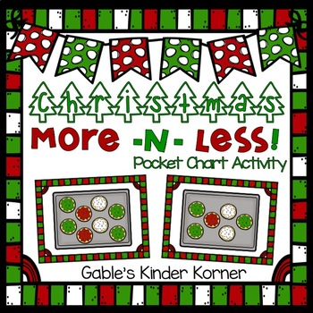 Christmas More and Less Activity!