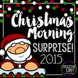 Christmas Morning Surprise 2015 {Creative Clips Digital Clipart}