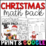My Christmas Math Packet