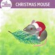 Christmas Mouse Clip Art