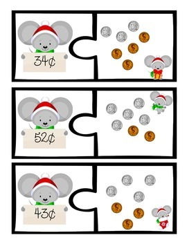 Christmas Mouse Money